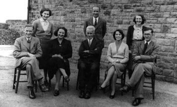 school staff team 1949